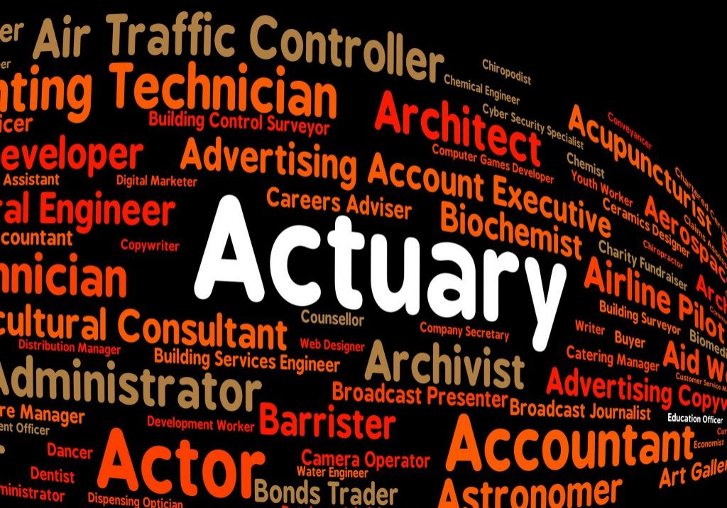 43802850 - actuary job indicating actuarial science and recruitment